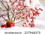 Gift Box And Christmas Balls...