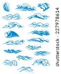 nautical or marine themed set... | Shutterstock .eps vector #227978614