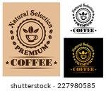 natural selection premium... | Shutterstock .eps vector #227980585