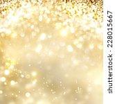 Christmas background. golden...