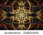 fractal geometry creative | Shutterstock . vector #228031435