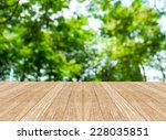empty perspective room with... | Shutterstock . vector #228035851