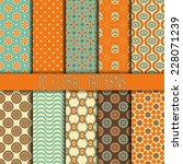 collection seamless pattern.... | Shutterstock .eps vector #228071239