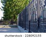 Metal Fence In Yekaterinburg ...