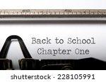 back to school  | Shutterstock . vector #228105991