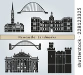 newcastle landmarks and