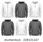 hoodie template free vector art 26259 free downloads