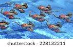 barcelona  spain september 04... | Shutterstock . vector #228132211