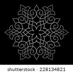 circle ornamental geometric...