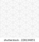 seamless pattern of...   Shutterstock .eps vector #228134851