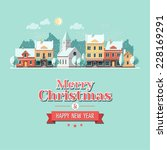 Christmas City Greeting Card  ...