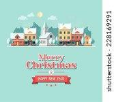 Christmas City Greeting Card  ...
