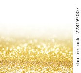 abstract shining glitters gold... | Shutterstock . vector #228192007