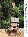 drill pier equipment for pile... | Shutterstock . vector #228197494