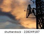 Silhouette Satellite...
