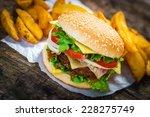 burger | Shutterstock . vector #228275749