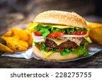 burger   Shutterstock . vector #228275755