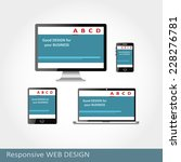 web design on different devices....