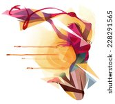 jump around   Shutterstock .eps vector #228291565