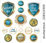 premium  quality retro vintage...   Shutterstock .eps vector #228315505