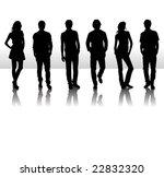vector illustration of fashion... | Shutterstock .eps vector #22832320