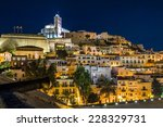 Old Town Ibiza On The Hill....