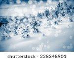 fantastic landscape glowing by... | Shutterstock . vector #228348901