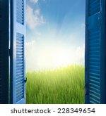 new beginings concept    open... | Shutterstock . vector #228349654