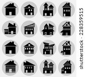 home icon  | Shutterstock .eps vector #228359515