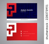 modern vector graphic business... | Shutterstock .eps vector #228373951
