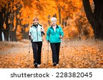 mother and daughter train... | Shutterstock . vector #228382045