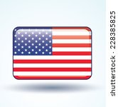 flag of united states of... | Shutterstock .eps vector #228385825