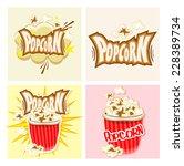 popcorn | Shutterstock .eps vector #228389734