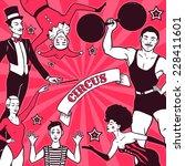 Circus Performance Advertisement