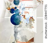 abstract artistic element... | Shutterstock . vector #228447751