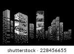 vector design building and city ...   Shutterstock .eps vector #228456655
