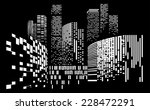 vector design building and city ... | Shutterstock .eps vector #228472291