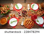 lots of traditional festive... | Shutterstock . vector #228478294