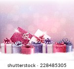 christmas holiday background... | Shutterstock .eps vector #228485305