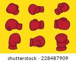 vector illustration of red...   Shutterstock .eps vector #228487909