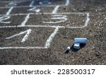 hopscotch   popular street... | Shutterstock . vector #228500317