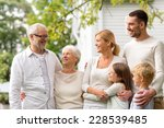 family  happiness  generation ... | Shutterstock . vector #228539485