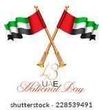 united arab emirates flag for...   Shutterstock . vector #228539491