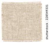 texture of canvas. vector... | Shutterstock .eps vector #228549331