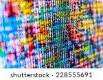 Digital Cyber Pattern. Abstrac...