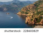 view of the gulf and port of... | Shutterstock . vector #228603829