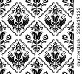 floral vector oriental pattern... | Shutterstock .eps vector #228619135