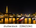 Eiffel Tower And Seine River A...