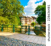 strasbourg  water canal and... | Shutterstock . vector #228636481