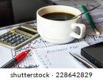 inside the stock exchange ... | Shutterstock . vector #228642829
